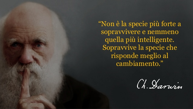 Capua langue? Sottovaluta Darwin – RIPENSARE IL FUTURO